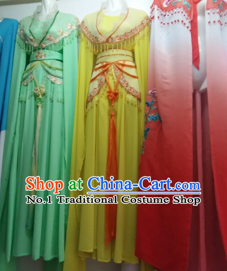 Asian Chinese Traditional Dress Theatrical Costumes Ancient Chinese Clothing Chinese Attire Water Sleeve Classical Dancing Costumes for Women