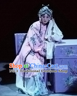 Ancient Chinese Beijing Opera Chui Gui Meng Long Water Sleeves Robe Costumes for Women
