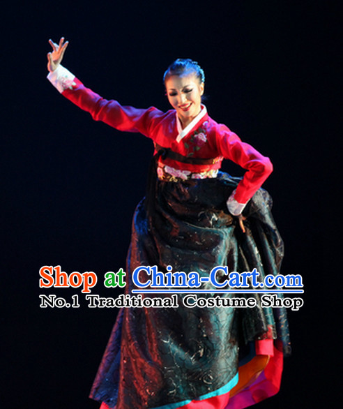 Traditional Korean Dance Costumes for Women