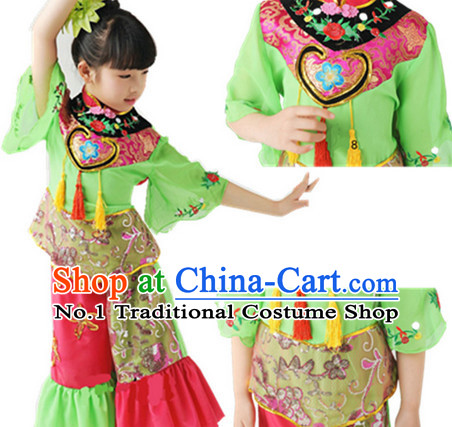Chinese New Year Dance Costumes for Children