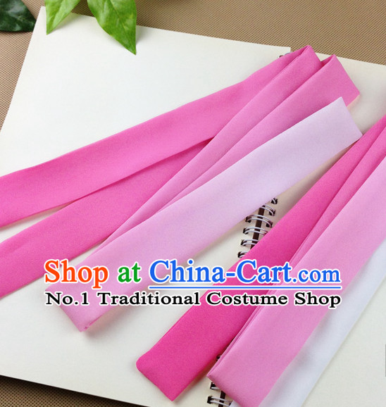 Color Transition Handmade Chinese Traditional Hair Band Hair Bands Headbands Hair Decorations for Women