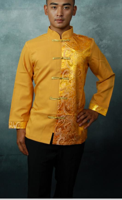 Traditional Thailand Customs Formal Suit for Men