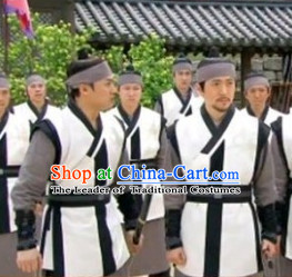 Ancient Korean Civilian Costume and Head Band Complete Set for Men