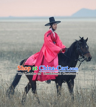 Ancient Korean Horseman Hanbok