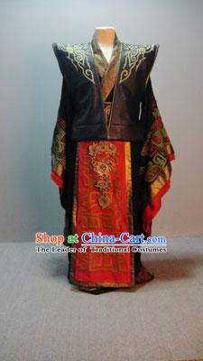 Ancient Palace Imperial Emperor Costume Complete Set