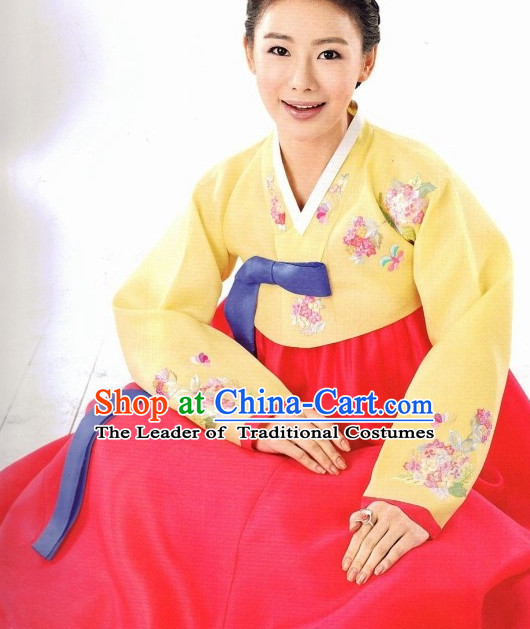 Korean Fashion Traditional Hanbok Suit for Women