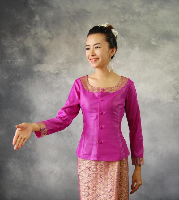 Thailand Traditional Clothes Complete Set for Women