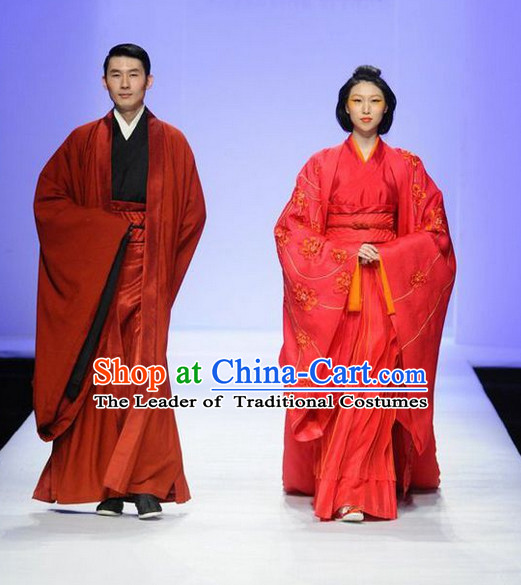 China Wedding Dress for Men and Women