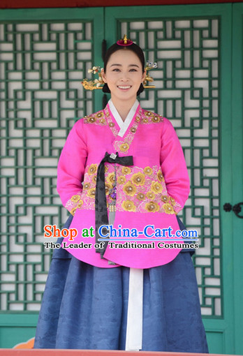 Traditional Korean Imperial Princess Hanbok for Ladies