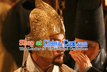 Ancient Chinese King Emperor Hat