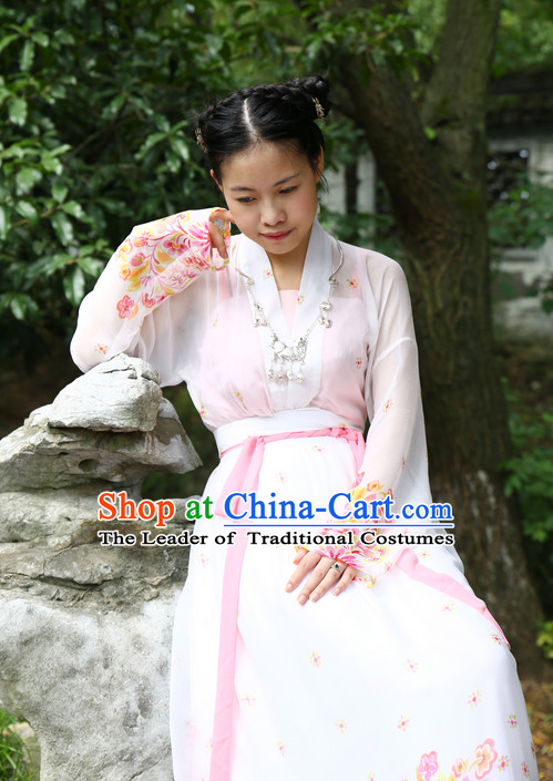 Ancient Asian Hanfu Halloween Costumes Plus Size Dresses online Shopping