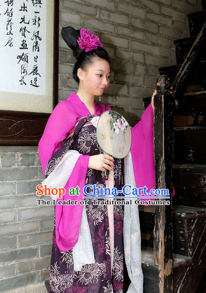 Tang Dynasty Chinese Costume Ancient Costume Traditional Clothing Traditiional Dress Costume China China Wholesale Clothing online