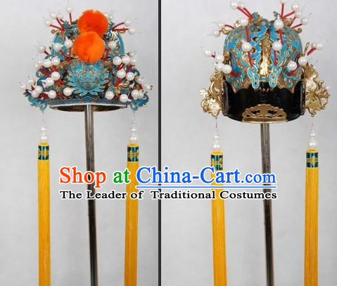 Ancient Chinese Opera Emperor Hat for Men