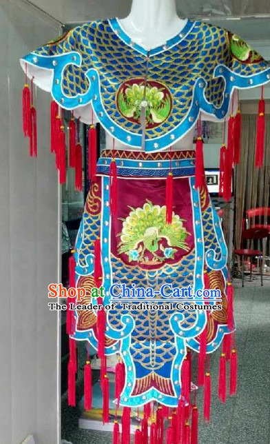 Chinese Ancient Female Armor Suits