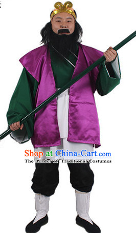 Journey to the West Sha Monk Costume and Hat