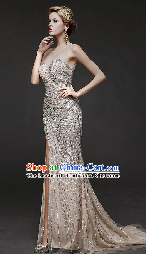 Top Chinese Red Wedding Dresses Evening Dress for Brides