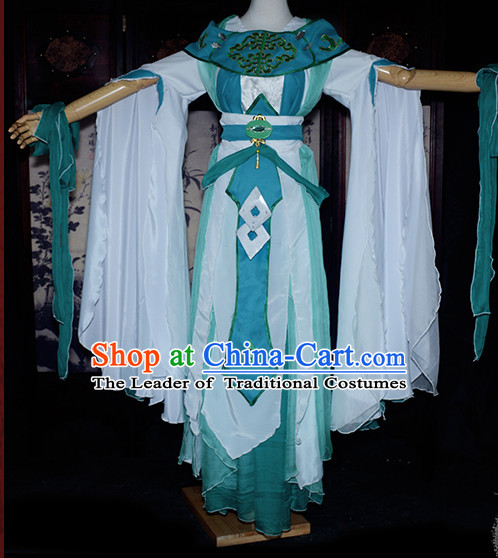Ancient Chinese Classical Princess Queen Costume Complete Set for Women or Girls