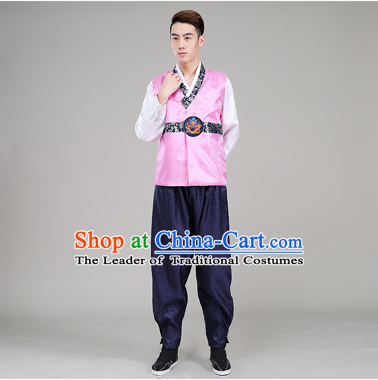 Korean Men Clothes Traditional Formal Dress Traditional Costumes Wedding Dress Full Dress Formal Attire Ceremonial Dress Court