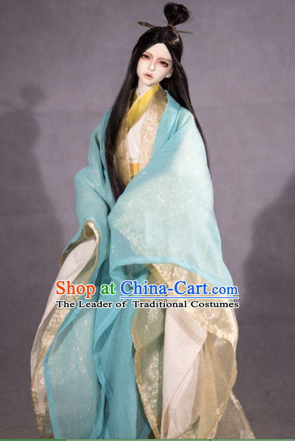 Ancient Chinese Prince Hanfu Costumes for Men Boys Adults Kids