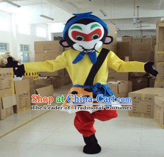 Mascot Uniforms Mascot Outfits Customized Walking Monkey King Sun Wukong Mascot Costumes