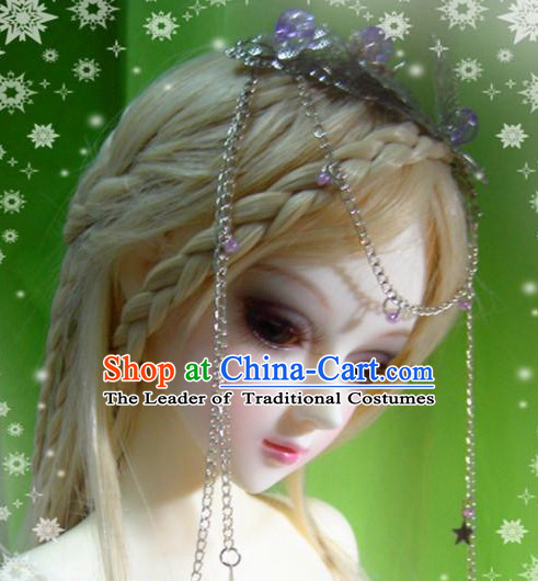 Ancient Chinese Style Princess Empress Queen Hair Accessories for Women Girls Adults Kids