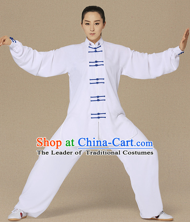 Top Kung Fu Jacket Kung Fu Gi Kung Fu Apparel Oriental Dress Wing Chun Apparel Taiji Uniform Chinese Kung Fu Outfit for Men Women Kids  Adults