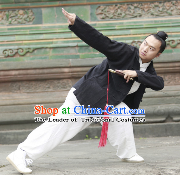 Top Wudang Tai Ji Master Taoist Pants Uniform Taiji Tai Chi Uniforms for Adults Children Men Women Boys Girls