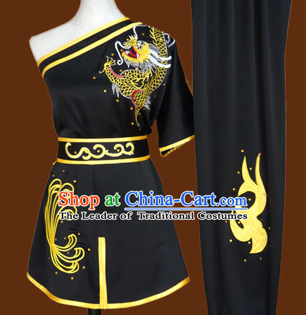 Southern Fist Top Mandarin Tai Chi Taiji Kung Fu Martial Arts Competition Uniform Dresses Suits Outfits for Adults