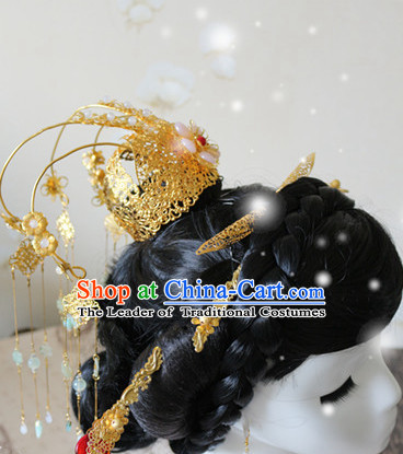 Ancient Chinese Empress Princess Queen Crown Coronet Headpieces Headdress
