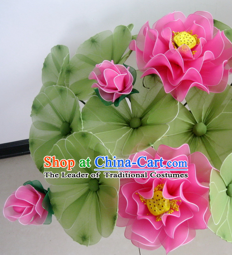 Light Green Lotus Leaf Dance Props Props for Dance Dancing Props for Sale for Kids Dance Stage Props Dance Cane Props Umbrella Children Adults