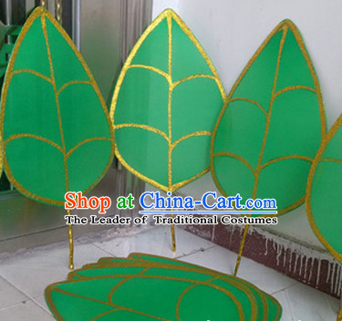 Big Green Leaf Dance Props Props for Dance Dancing Props for Sale for Kids Dance Stage Props Dance Cane Props Umbrella Children Adults
