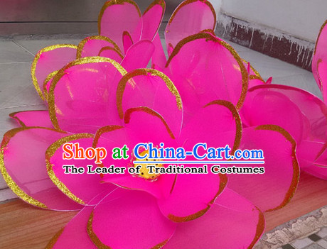 Big Handmade Lotus Dance Props Props for Dance Dancing Props for Sale for Kids Dance Stage Props Dance Cane Props Umbrella Children Adults