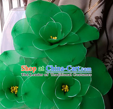 Big Handmade Lotus Flower Dance Props Props for Dance Dancing Props for Sale for Kids Dance Stage Props Dance Cane Props Umbrella Children Adults