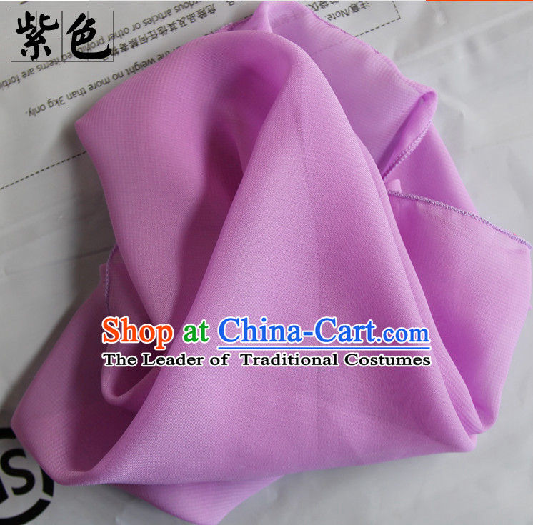 Purple Chinese Classcial Dancing Handkerchief