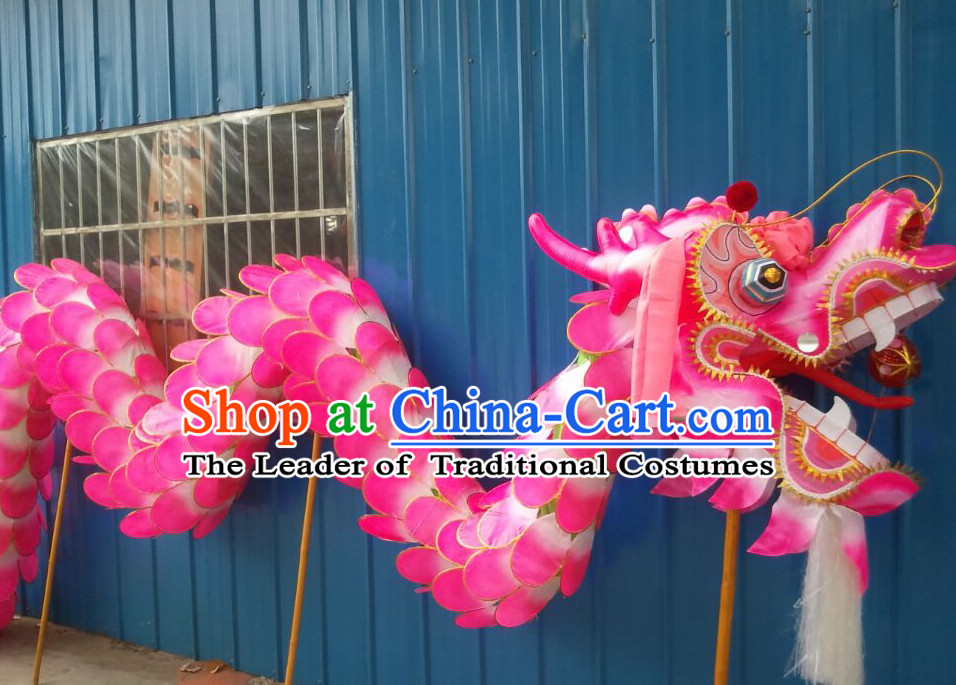 Supreme Beijing Olympic Games Opening Top Traditional Lotus Dragon Dance Costumes Complete Set