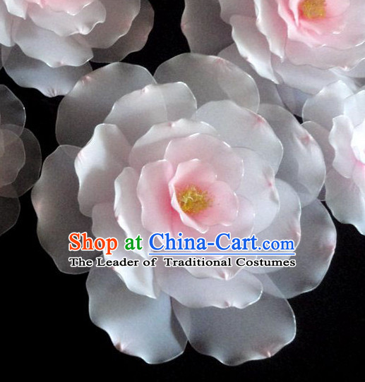1 Meter Traditional Chinese Stage Performance Flower Dance Props Dancing Prop