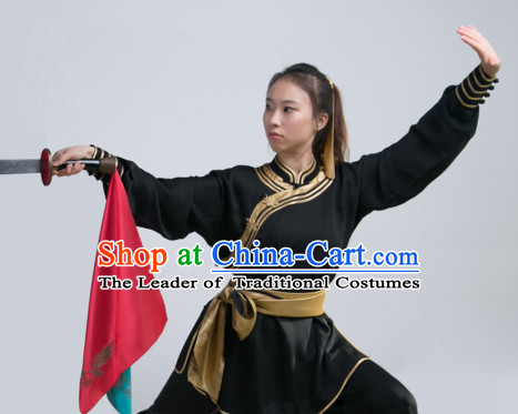 Top Chinese Traditional Wushu Martial Arts Uniforms for Women