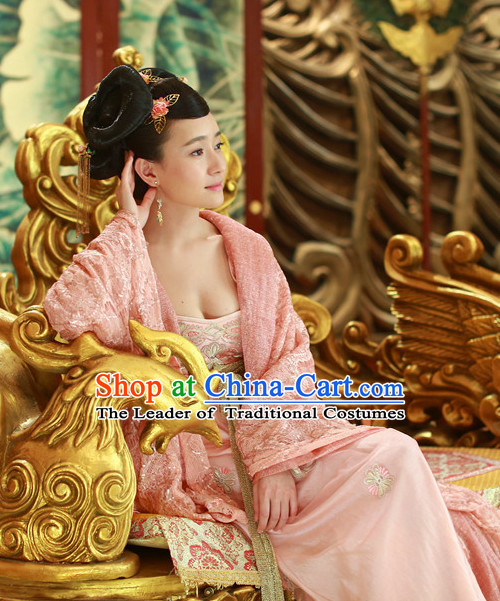 Ancient Chinese Traditional Princess National Hanfu Dress Costumes Clothes Ancient China Clothing for Ladies