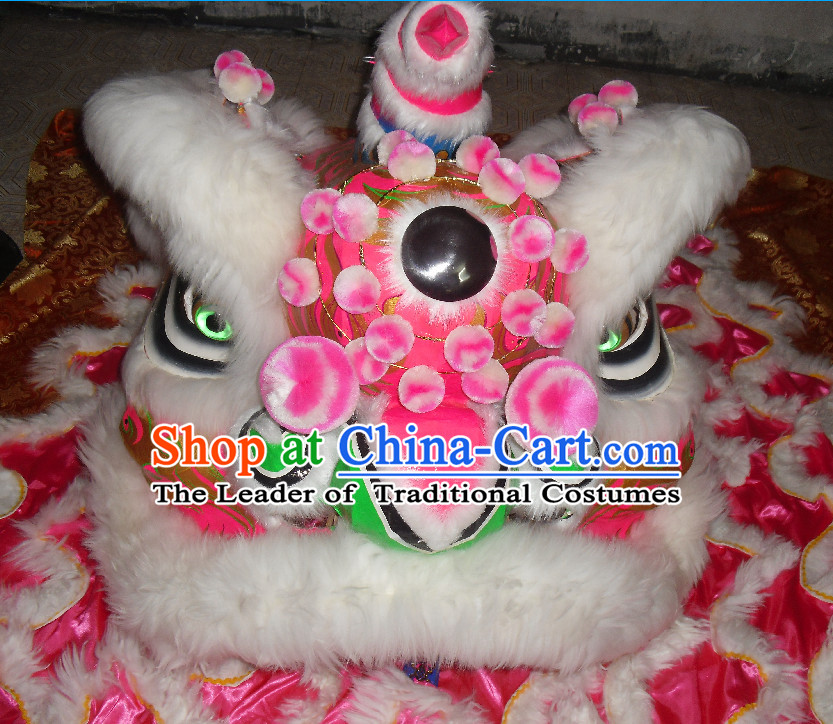 Top Asian Chinese Lion Dance Troupe Performance Suppliers Pants Equipments Art Instruments Lion Tail Costume Complete Set for Women