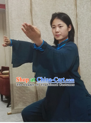 Top Chinese Traditional Martial Arts Tai Chi Kung Fu Gongfu Competition Championship Clothes Suits Uniforms