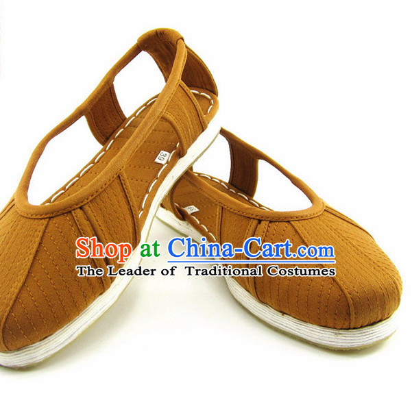 Top Chinese Classic Traditional Tai Chi Shoes Kung Fu Shoes Martial Arts Shaolin Monk Shoes for Men
