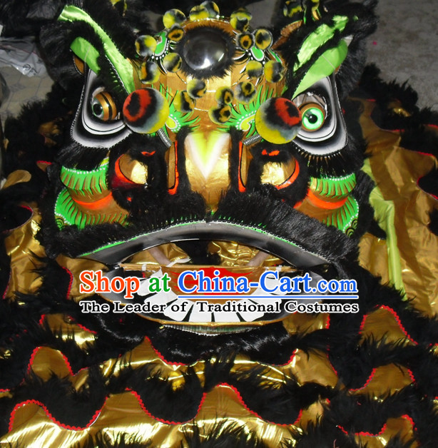 Top Competition and Parade Fut San Lion Dancing Costume Complete Set