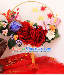 Chinese Traditional Classical Handmade Dance Fan Hanfu Fans