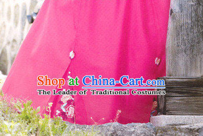 South Korean Embroidered Clothing Traditional Korean Dress Traditional National Costume