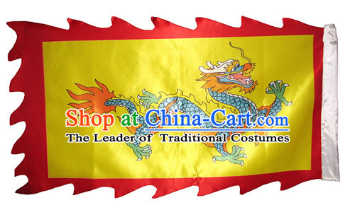 dragon dancing banner