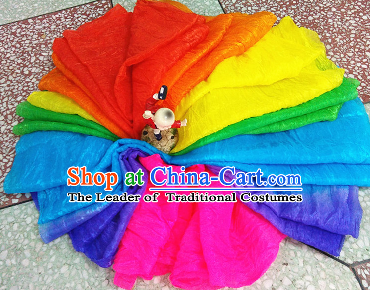 12 Meters Imitation Silk Long Dance Ribbon