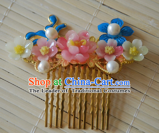 Qing Dynasty Imperial Royal Quene Hairpins Hair Accessories Hairstyle Wigs Hairstyle Chinese Oriental Hairstyles Headpieces