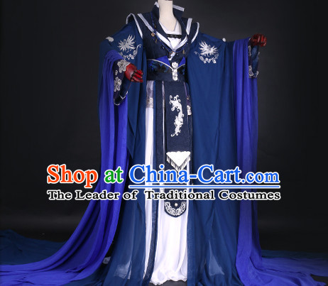 Ancient Chinese Queen Clothing Traditional Chinese Princess Clothes Dresses Tangzhuang Empress Han Fu Complete Set for Women
