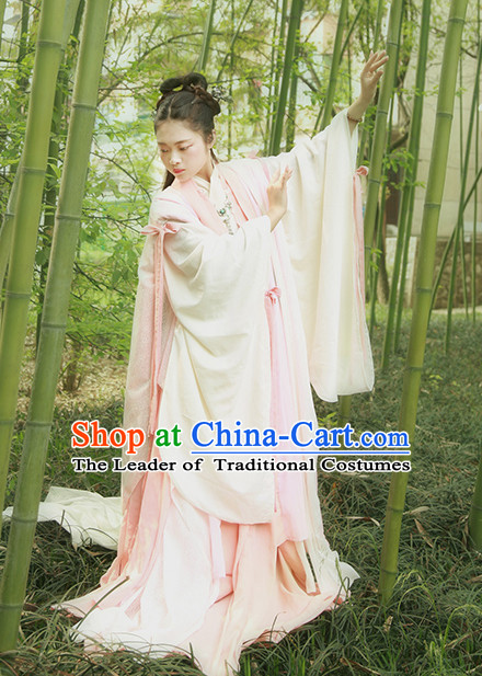 Chinese Ancient Clothing Robes Tunics Accessories Traditional China Clothes Women Adults Kids