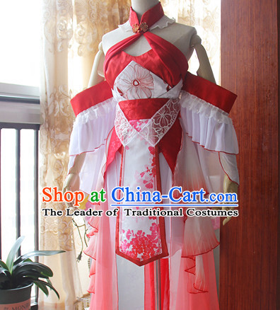 Ancient Chinese Stage Costume National Costume Halloween Costumes Hanfu Chinese Dresses Chinese Clothing